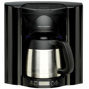 Built-In 10 Cup Black Model: BE-110-BB